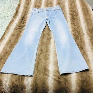 American Rag Light Denim Jeans W/ Flare